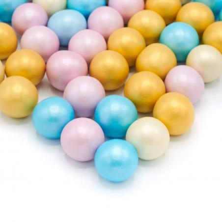 Happy Sprinkles posypka XXL perłowe pastelowe kule