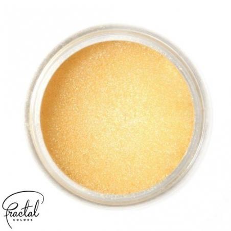 Barwnik spożywczy pudrowy metaliczny golden shine supearl shine Fractal