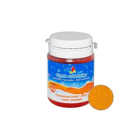 Barwnik spożywczy w proszku pomarańczowy jasny 25 g