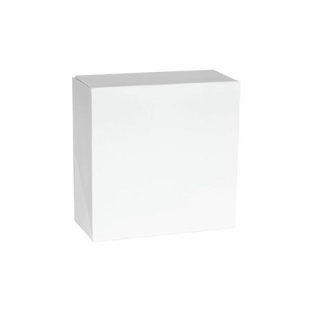 Pudełko na ciasto białe klapowe 26 x 26 x 12