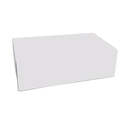 Pudełko na ciasto białe klapowe 25 x 15 x 8 cm, 50 szt.