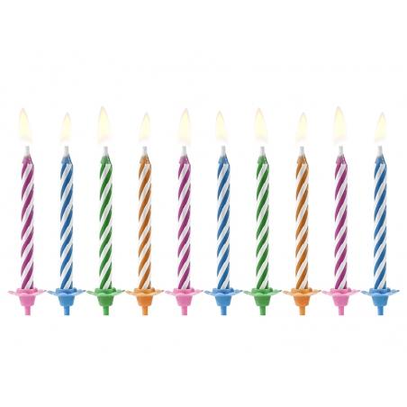Magiczne świeczki niegasnące płomienie 10 szt.