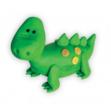 Dekoracja cukrowa Dinozaur zielony