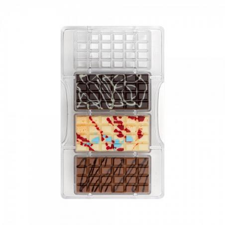 Forma tabliczka czekolady