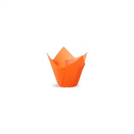 Papilotki tulipany pomarańczowe 100 szt.